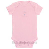 Organic Baby Shirt (set of 3) (Short Sleeves/Pink/Large)