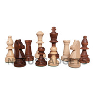 Guge Chess Pieces with 3.5 Inch King, PIECES ONLY