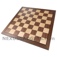 Kingstan 15 Inch Chess Board, BOARD ONLY