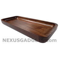 Idon Walnut Rectangular Tray, Small
