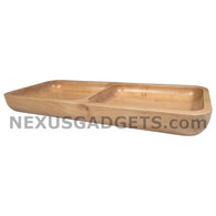 Arch Solid Maple Rectangular Tray, Small