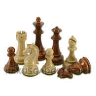 Elan Chess Pieces with Extra Queens and 3.75 Inch King, PIECES ONLY