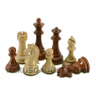 Pimo Chess Pieces with Extra Queens and 3 Inch King, PIECES ONLY