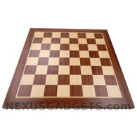 Bron 19 Inch Wood Chess Board, BOARD ONLY