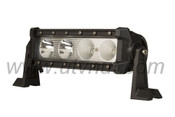 "9"" Single Row CREE Flood Led Light Bar - RZR, RZR XP 1000, Commander, Maverick, Wildcat"