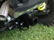 "2015 RZR 900 2"" Receiver Hitch - Mounted"