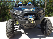 RZR XP 1000 / 2015 RZR 900 Extreme Front Bumper / Brush Guard  w/ Winch Mount and Led Lights - 2