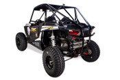 Two Brothers Racing Polaris RZR XP1000 Dual S1R Stainless Steel Slip-On Exhaust System - Installed