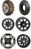 "14"" Sand Tires Unlimited Blaster Sand Paddle Wheel Package"
