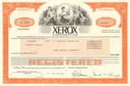 Xerox Corporation $100,000 bond certificate 1984