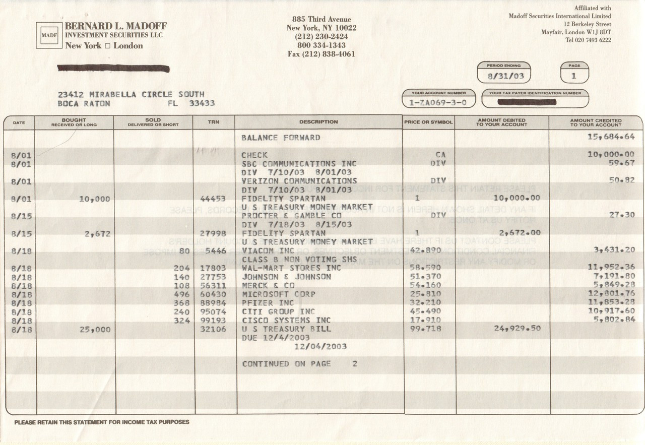Bernard l madoff investment securities llc in 1960 the average golden seeds investments