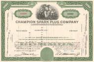 Champion Spark Plug Company stock certificate 1964  (Toledo Ohio)