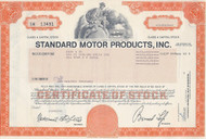 Standard Motors stock certificate