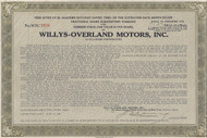 Willys-Overland Motors Fractional Share Subscription Warrant 1945