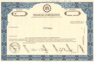CFS Financial Corporation specimen stock certificate