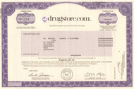 Drugstore.com 2001 stock certificate