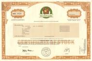 Webvan stock certificate 2001