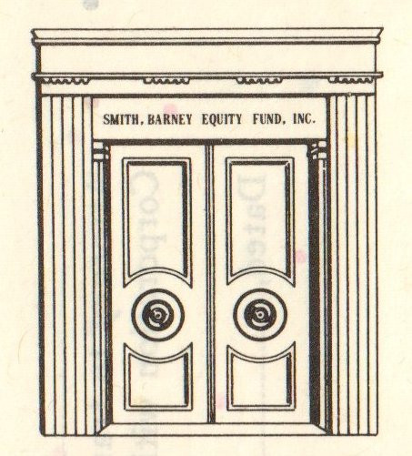 Stock Certificate Smith Barney Equity Fund Inc