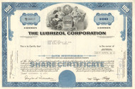 Lubrizol Corporation stock certificate 1971