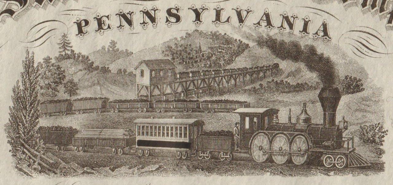 Standard Coal Company of Pennsylvania circa 1860 (Somerset PA)