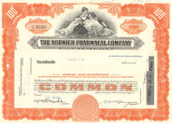 Norwich Pharmacal Company stock certificate 1960's (Pepto-Bismol)