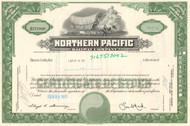 Northern Pacific Railway Company stock  certificate circa 1970's