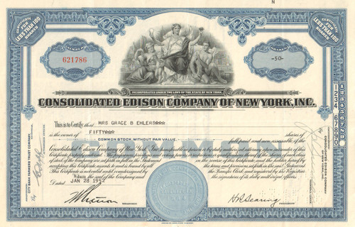 Consolidated Edison Company of New York 1950's - Version 3