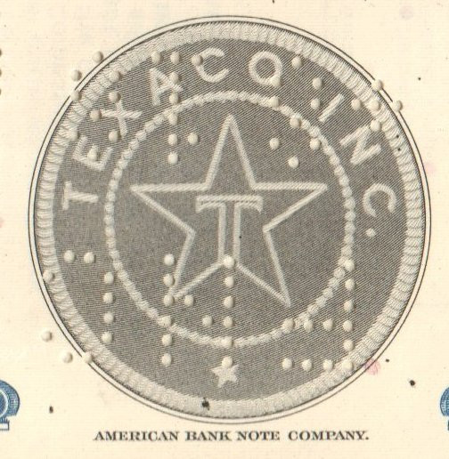 Texaco Inc  bond 1976 (oil and gasoline)