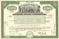 Missouri Pacific Corporation certificate 1980's