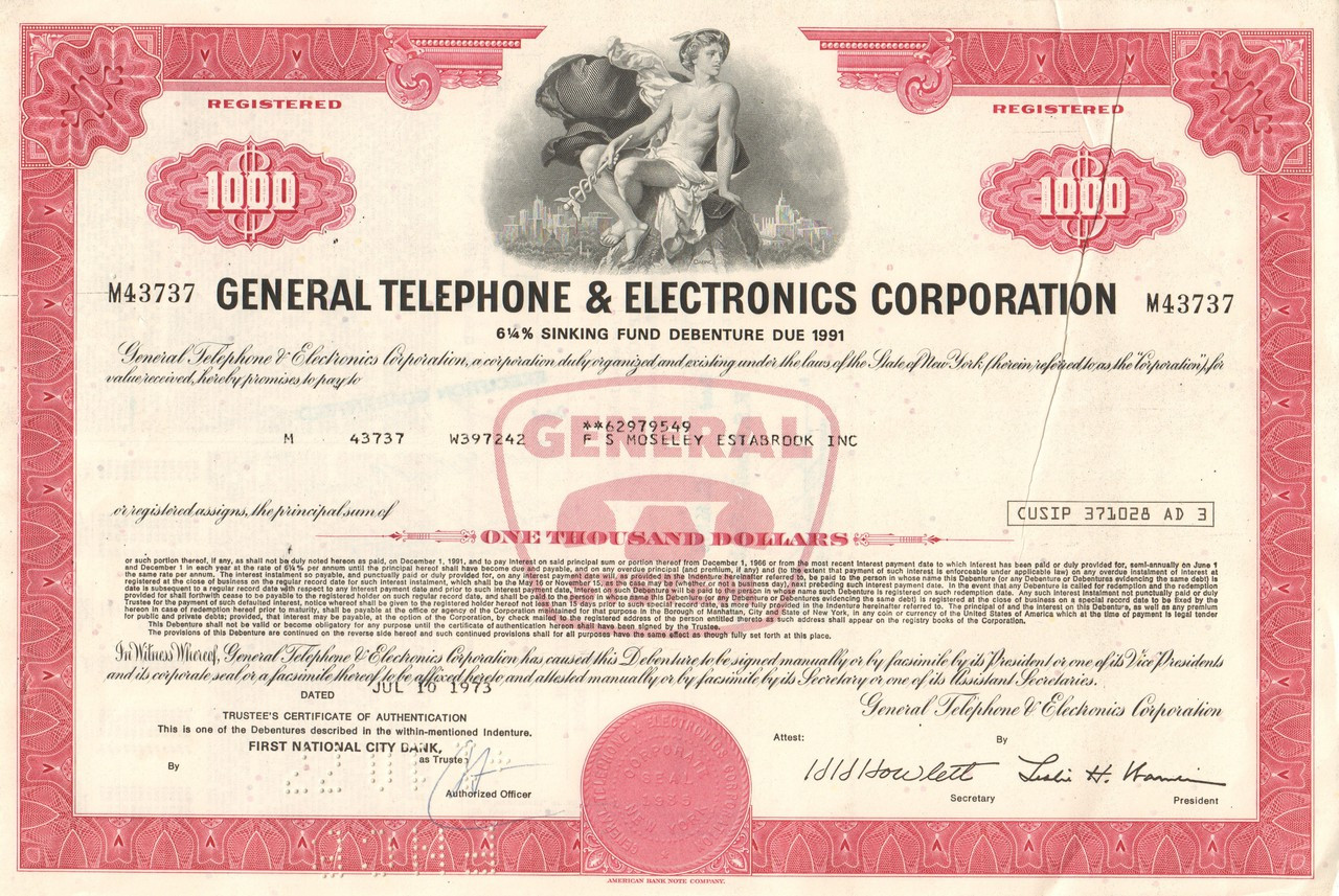 First Financial Bancorp Belvidere, Illinois Inc Stock Certificate