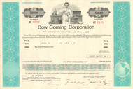 Dow Corning Corporation $5000 bond certificate 1975