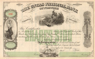 Uncas National Bank of Norwich stock certificate circa 1900 (Connecticut)