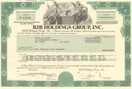 RJR Holdings Group Inc. bond certificate 1990 (Reynolds-Nabisco)