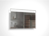 TONA 32 INCH WALL MOUNTED BATHROOM MIRROR WITH LED LIGHT