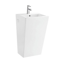 Korela KR-6012 White Pedestal Sink