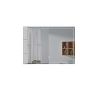 FERO 36 INCH WALL MOUNTED BATHROOM MIRROR WITH LED LIGHT