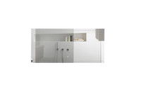 FERO 55 INCH WALL MOUNTED BATHROOM MIRROR WITH LED LIGHT