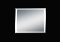 Twinkle 47'' Polished Edge Frosted Panel LED Mirror