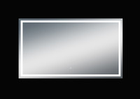 Twinkle 68'' Polished Edge Frosted Panel LED Mirror