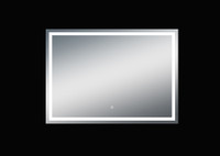 Twinkle 55'' Polished Edge Frosted Panel LED Mirror