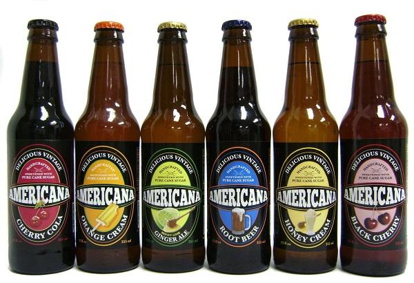 Americana Gourmet Sodas Sold Here