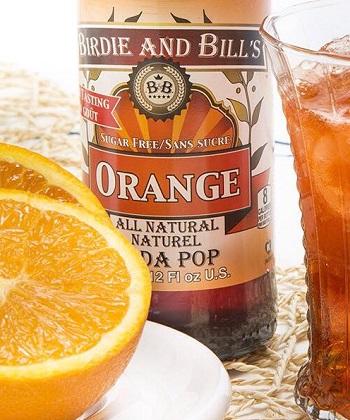 Birdie and Bills Orange Soda at SummitCitySoda.com