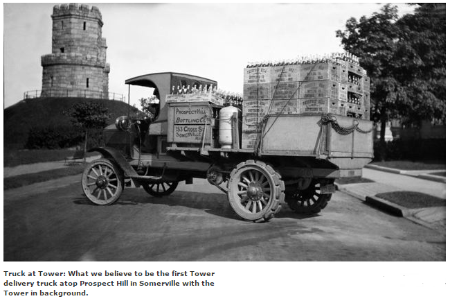 First Tower Delivery Truck 1914