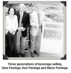 Romano's Italian Soda Company. Three generations in the beverage industry