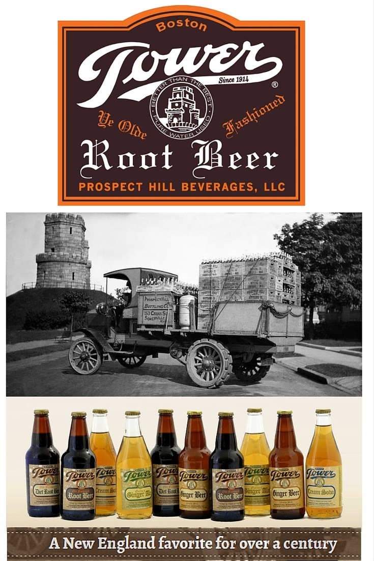 Tower Root Beer from Prospect Hill Beverages is Now Available at SummitCitySoda.com