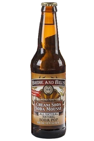 Birdie and Bill's Cream Soda - All Natural Soda Pop in 12 oz glass bottles at SummitCitySoda.com