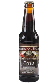 Birdie and Bill's Cola - All Natural Soda Pop in 12 oz glass bottles at SummitCitySoda.com
