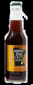North Star Craft Soda Orange Cola in 12 oz glass bottles for Sale at SummitCitySoda.com
