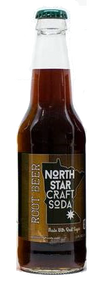 North Star Craft Soda Root Beer in 12 oz glass bottles for Sale at SummitCitySoda.com