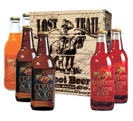 Lost Trail Cream Soda Sampler: 6-Pack of 12 oz. glass bottles from SummitCitySoda.com